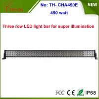 Buy cheap China factory hot wholesale 450w Epistar off road led light bar 3 rows 55 inch product