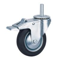 Buy cheap Rubber trolley caster wheels product