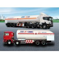 LNG Cryogenic Liquid Lorry Tanker With Pump