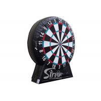 Buy cheap Giant inflatable soccer dart board with stand made with pvc tarpaulin material product