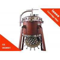 China BOCIN Liquid / Steam Purification Industrial Cartridge Filters Of Carbon Steel Housing on sale