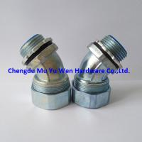 """Buy cheap 1/2""""(16mm) zinc die cast 45 degree liquid tight fittings for flexible steel conduit product"""