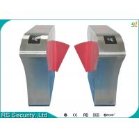 Customized Security Automatic Falp Barrier Gate Double Card Reader Wing Gates