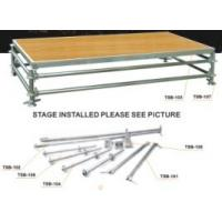 Buy cheap Energy Saving Portable Stage Platform Smooth Running For Wedding Stage from Wholesalers