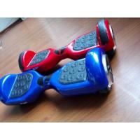 White , red , blue Smart Electric 2 Wheel Balance Scooter Stand up With Pedal