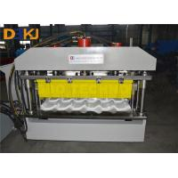 Buy cheap Glazed Tile Roof Roll Forming Machine /   Glazed Making Machine With CE ISO Certificate product