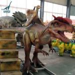 Buy cheap Amusement park equipment animatronic dinosaur ride for kids product