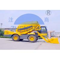 Buy cheap Batch Type Self Loading Concrete Mixer High Speed Productivity For Rural Construction product