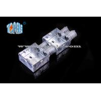 Buy cheap Electrical Boxes / 2-Gang British Standard Metal Conduit Box with PVC , Switch Box product
