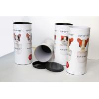 China Glossy Lamination Pets Toy  Paper Composite Cans / Tube  , Dia 73 mm / H 100 mm on sale