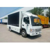 Buy cheap Outdoor Advertising	LED Billboard Truck P10 LED TV Screen Vehicle With Stage product