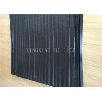 Buy cheap PVC Machine Protection Fabric Expansion Joint Covers / Connection Black Color product