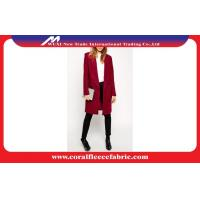 Buy cheap Rosy Autumn Winter Lady Long Trench Jacket , Business Style Cashmere Overcoat product