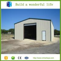 Quality China steel hall construction prefab garage industrial shed drawing for sale