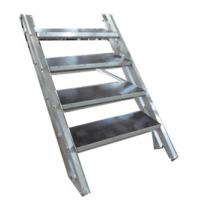 Buy cheap Lightweight Economic Aluminum Portable Stage Stairs For Events / Party / Show from Wholesalers