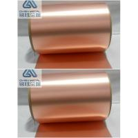 Buy cheap 35um Double Shiny Copper Foil Sheet Roll With High Content Cu product