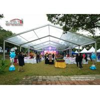 Buy cheap Small 100 Square Meter A Shape Marquee Canopy Tent For Movable Temporary Party product