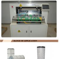 PLCZ55-600 air filter making machine for filter paper pleating