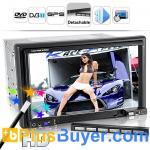Buy cheap Street King X1 - 6.2 Inch LCD Car DVD Player (Detachable, GPS, DVB-T) product
