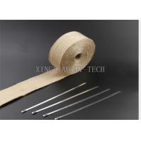 Buy cheap 550 ℃ Fiberglass Heat Resistant Insulation Tape Different Thickness Multi Colored product
