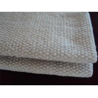 Buy cheap 2 - 10mm Thickness Ceramic Fiber Insulation Blanket For Wood Stoves / Steel Wire Reinforced product