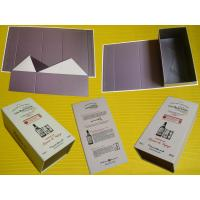 Buy cheap Luxury Gift Folding Flat Shipping Apparel Packing Paper Box With Logo Printi product