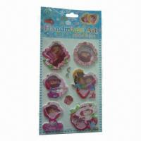 Buy cheap Vacuum stickers with pearl, various sizes are available product