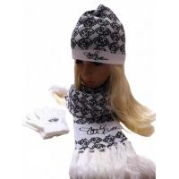 China 100% acrylic warp knitted scarf on sale