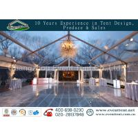 Clear Span Tent Customized Exhibition Display marquee With European Standard Frame Structure