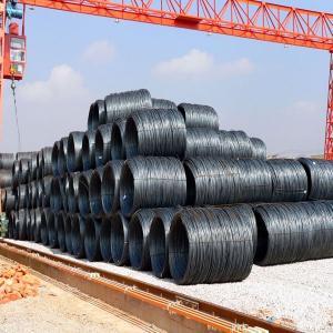 MS steel wire rod / hot rolled wire rod / Q235B wire rod steel