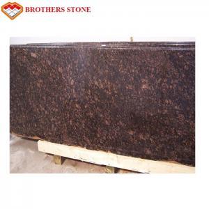 Buy cheap Beautiful Polished Granite Stone , Natural Tan Brown / English Brown Granite Slabs product