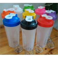 Buy cheap BPA free shaker water bottle,600ml shaking water bottle,The protein plastic from wholesalers