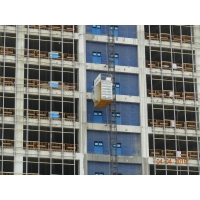Buy cheap Direct Start Up And Stop 46 M / Min Construction Hoist Elevator product