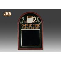 Buy cheap Decorative Wooden Framed Wall Hanging Chalkboards Coffee Time Wall Sign product