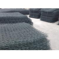 Multiple Twisted Hexagonal Gabion Box , Steel Wire Mesh ISO9001 Approved