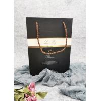 Buy cheap Muti - Use Metallic  Custom Packaging Bags 100% Recycled Strong Rope Handle product