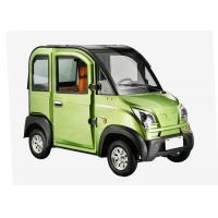 Buy cheap Disc Brake Steering Wheel Economic Electric Cars , 1200W 3 Seats Small Electric Cars product