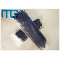 China 3X100MM Heavy Duty Nylon Cable Ties Heat Resisting Nylon 66 Black  Cable Tie Wraps on sale