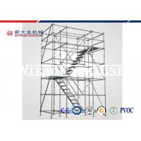 China SGS Approved Galvanized Steel Ring Lock Scaffolding For Construction Equipment on sale