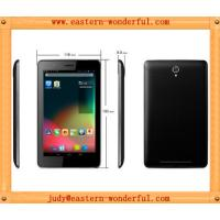 China Dual core MTK8377 Dual sim card 3G tablet smartphone tablet pc with GPS and bluetooth on sale