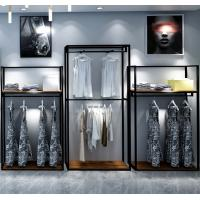 China Simple Clothes Shop Display Showcase MQ-027 Strong Structure Easy Install on sale