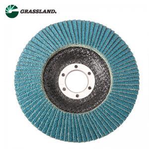 Buy cheap 115mm 60 Grit Zirconium Angle Grinder Sanding Flap Disc product