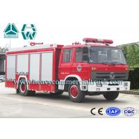 Buy cheap Multi Occupant Dongfeng Fire Fighting Truck With Double Cabin 6 Tons product