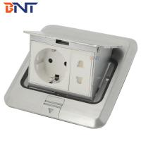 Quality different type aluminum alloy floor socket for sale