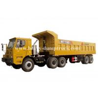 Buy cheap Rated load 100 tons Off road Mining Dump Truck Tipper  309kW engine power drive multi axles with 50m3 body cargo Volume product