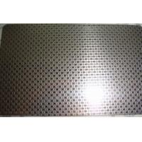 Buy cheap SS 316L Grade Etching Stainless Steel Sheet Metal With Surface Linen Pattern product