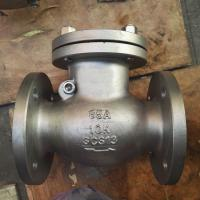 Buy cheap JIS flange swing check valve 10k stainless steel dn50 flange end product