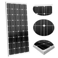 China Mono 90W 12V Monocrystalline Solar Panel High Conversion Efficiency For Camping / Travel on sale