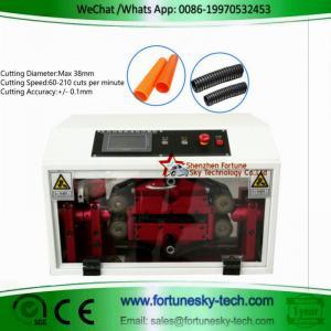 Buy cheap Max Diameter 38mm English HWN-86A FEP Corrugated Black PE Flexible Split Tubing from wholesalers