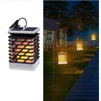 Buy cheap Solar Garden Lights Dancing Flame Outdoor Hanging Lantern Solar Powered LED Night Lights Dusk to Dawn Auto On/Off Lamps product